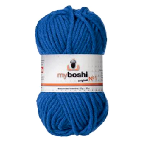 Ocean Blue 153 - Wool Balls 50g For DMC Myboshi Beanie Hats
